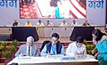 Nitin Gadkari and the Union Minister for Petroleum & Natural Gas and Skill Development & Entrepreneurship.JPG