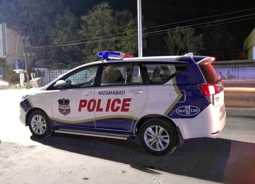 Nizamabad Police Vehicle