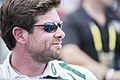 Noah Galloway watches the 2016 Invictus Games swim finals 160511-A-LC197-013.jpg