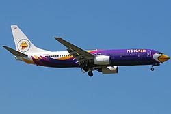 Boeing 737-800 of Nok Air