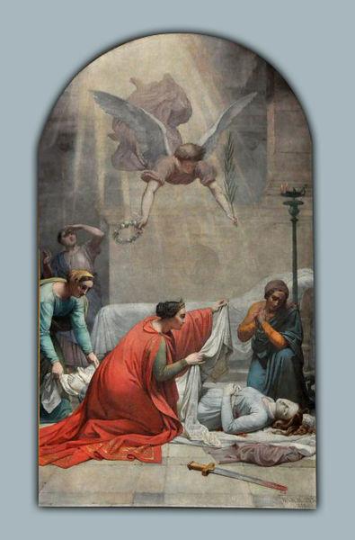 File:Norblin - La Mort de sainte Suzanne.JPG