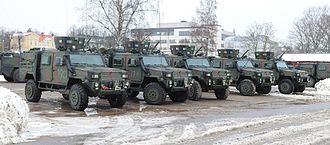 Nordic Battlegroup - RG Outrider the Irish Defence Forces, a variant of the RG 32