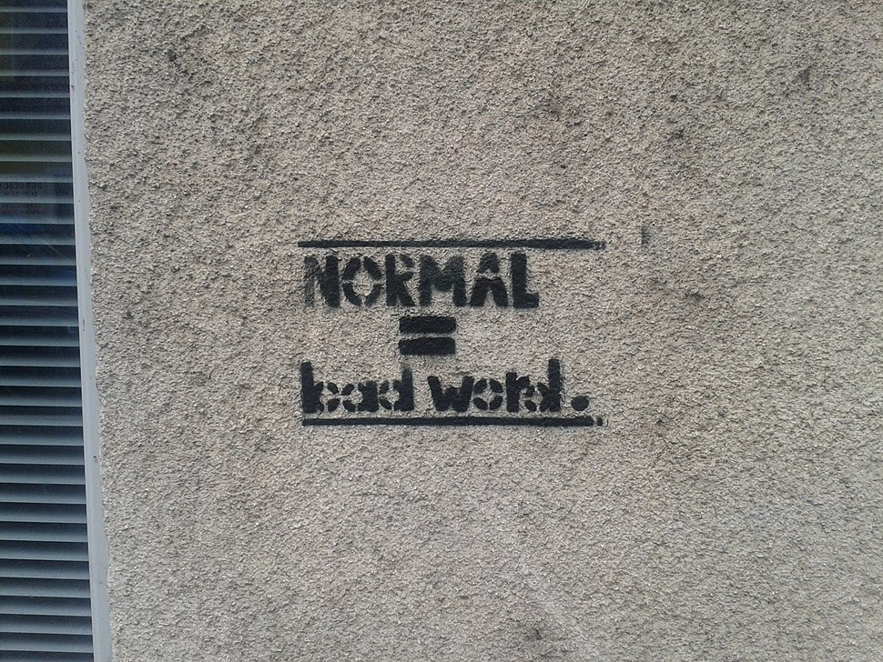 Normal is a bad word