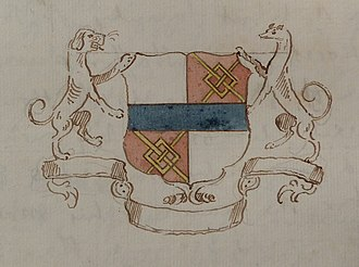 Henry Norris, 1st Baron Norreys - Coat of arms, Henry, 1st Baron Norris of Rycote
