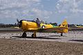 North American SNJ-4 Texan WarbirdAdventures Startup TICO 13March2010 (14599350845).jpg
