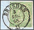 North German Confederation 1868 Mi2 DRESDEN Feuser SA 050.jpg