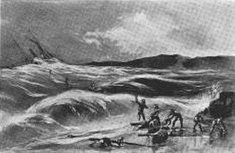 SS Northerner - Image: Northerner Wreck 1860