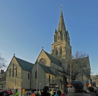 Nottingham Cathedral Church in Nottinghamshire, England