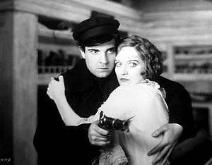 Ramon Novarro - Novarro with Joan Crawford in Across to Singapore (1928)