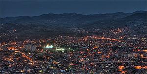 Novi Pazar - Image: Novi Pazar noc