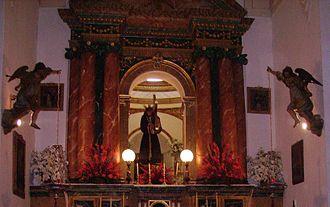 Montalbán de Córdoba - Calvary chapel, Montalbán de Córdoba