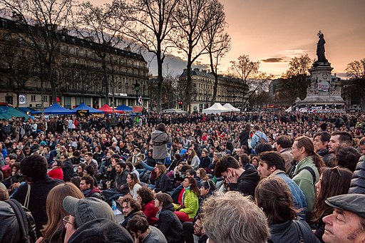 Nuit Debout - Paris - 41 mars 01