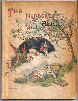 """The Nursery """"Alice"""" - First edition cover of The Nursery """"Alice"""""""