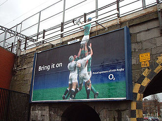 Telefónica Europe - An O2 Irish rugby union advert.