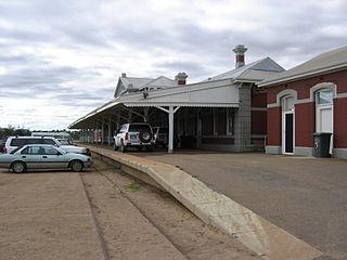 Geraldton railway station Heritage listed building in Western Australia
