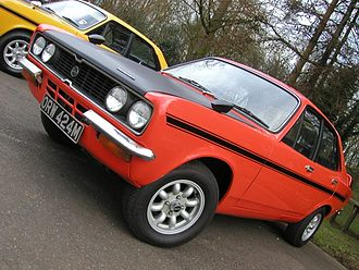 Coventry - A 1972 Hillman Avenger Tiger, produced in Coventry by Chrysler Competitions Department
