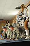 Oakland Raiderettes take a spin around Multi-National Division—Baghdad DVIDS177675.jpg