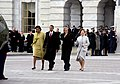 Obamas escort Bushes to helicopter.jpg
