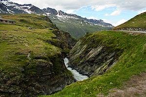 Obergurgl - A creek near Obergurgl.