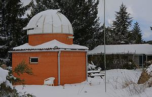 La Cañada Observatory - Image: Observatory Winter View