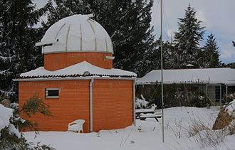 La Cañada Observatory - Image: Observatory Winter View