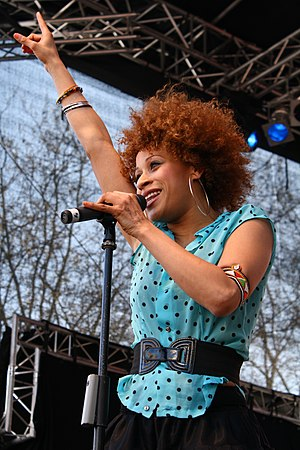 Oceana (singer) - Oceana performing at the Radio Hamburg Top 820 in April 2009