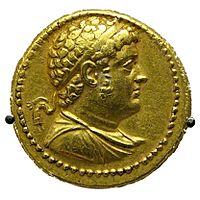 Octadrachm Ptolemy IV BM CMBMC33.jpg