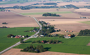 Odarslövsvägen–flygbild 06 september 2014