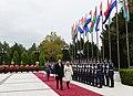 Official welcoming ceremony was held for Croatian President Kolinda Grabar-Kitarovic 15.jpg