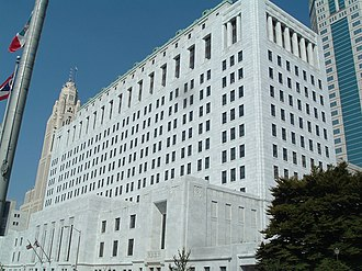 Government of Ohio - The Ohio Supreme Court building in Columbus