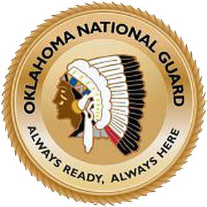 Oklahoma Air National Guard - Image: Oklahoma National Guard patch
