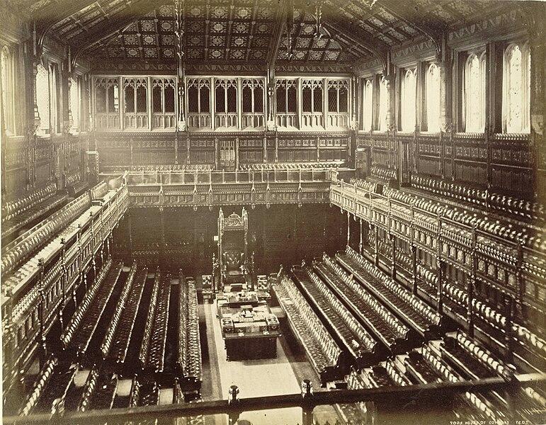 File:Old House of Commons chamber, F. G. O. Stuart.jpg