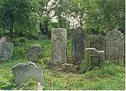 Old Jewish Cemetery Medzhibozh 1989