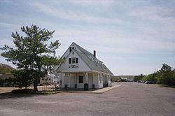 Old Montauk Station & Bike Rack.JPG