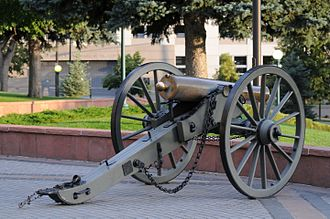 Howitzer - 12-pdr Napoleon at the Colorado State Capitol