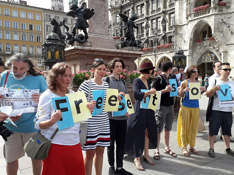 Oleg Sentsov, Action Support. Munich, Germany. 2018-06-03. 09.jpg