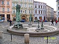 Olomouc, Arionova kašna bez vody- panoramio.jpg