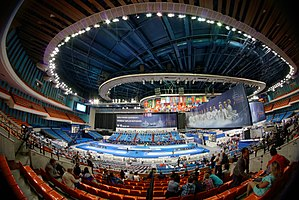 Olympic Stadium (Moscow) - A view during the 2015 World Fencing Championships on 15 July