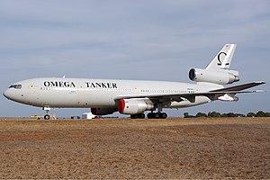 McDonnell Douglas KC-10 Extender - Omega's KDC-10 tanker in March 2009
