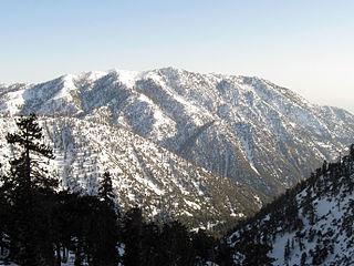 Ontario Peak mountain in United States of America