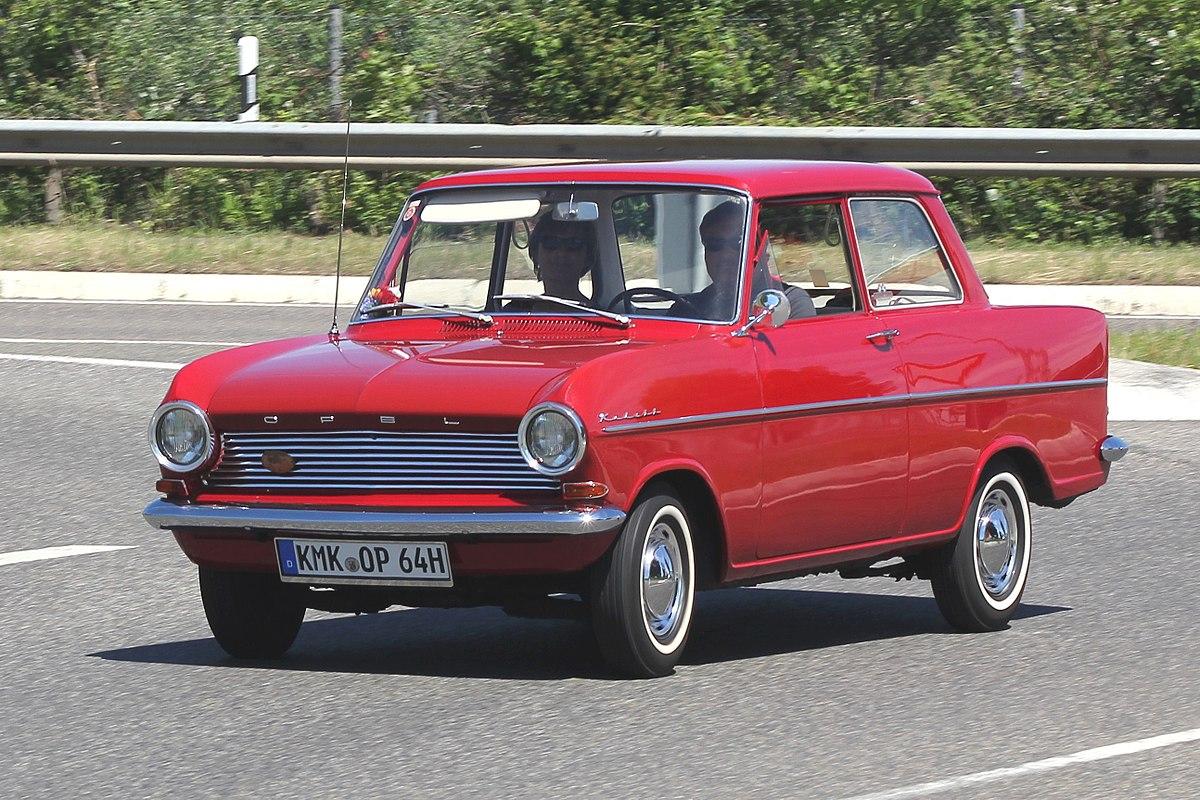 Opel Kadett – Wikipédia, a enciclopédia livre