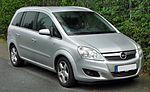 Opel Zafira B Facelift front 20090923.jpg