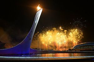 2014 in Europe - 2014 Winter Olympics opening ceremony