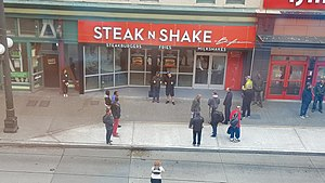 Steak 'n Shake - Opening of first store in Seattle