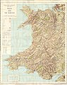 Ordnance Survey quarter-inch sheet Wales and the Marches, published 1963.jpg