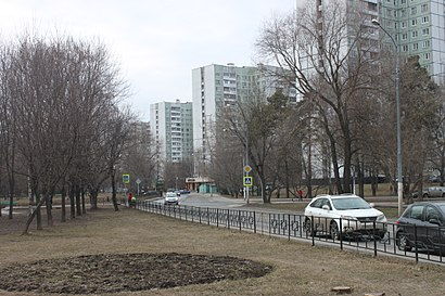 How to get to Осташковский Проезд with public transit - About the place