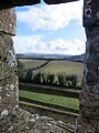 Out of the window at Carisbroke Castle - Feb 2015 - panoramio.jpg