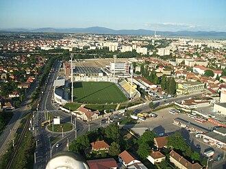 Stadionul Silviu Ploeșteanu - Image: Overview Brasov 1