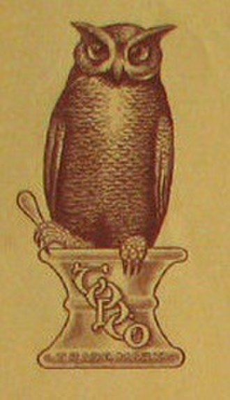 The Owl Drug Company - Owl Drugs logo (1916)