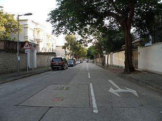 Oxford Road, Hong Kong - Oxford Road, north end